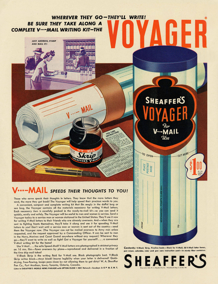 Sheaffers_V-Mail_Ad